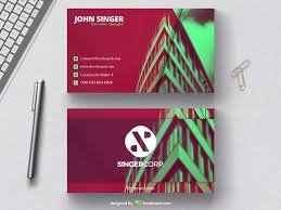 Architects Business Card Template Freebcard