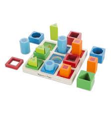 melissa doug shape sequence wooden sorting set and educational toy melissa doug 10582
