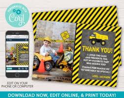 Dump truck thank you | Etsy