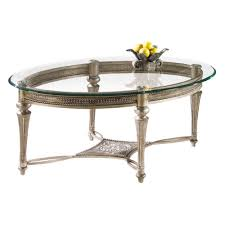 oval glass top end table magnussen galloway oval iron and glass cocktail table