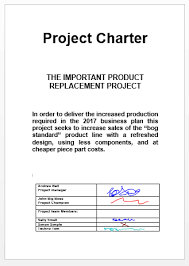 Project Charter On Line Project Management Simulations Ablesim