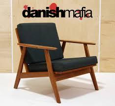 mid century danish modern grete jalk lounge chair eames  danish mafia
