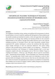 a career in teaching essay way
