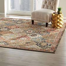 area rug patchwork medallion multi 8 ft x 10 ft area rug