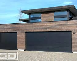 Modern Garage Door Remarkable Modern Wood Garage Doors With Modern