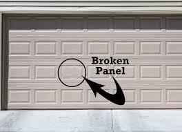 garage door panel replacement