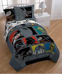 Star Wars Quilt Kit Bedroom Furniture Cotton Sheets Set Comforter ...