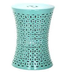 ceramic garden stool s dark blue red ceramic garden stool