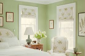 6 Bedroom Paint Colors for a Dream Boudoir, Potpourri Green by Benjamin  Moore (paint color) use different accents though