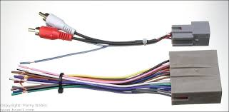 head unit aftermarket wiring harness not all head units can produce preamp level output but for those that do the adapter is often included the harness