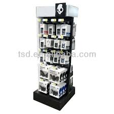 Cell Phone Accessories Display Stand Tsdc100 Custom Floor Cardboard Display Stand For Mobile 7