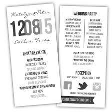 Templates For Wedding Programs Printable Wedding Program Diy Wedding Program Wedding Program Template Modern Wedding Program From Posh Pixel Designs