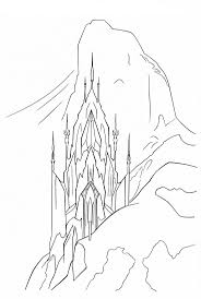 Elsa Castle Coloring Page Google Search