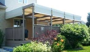 S Shadefx Canopies The Story Of Deck Awning Ideas  Canada Toronto