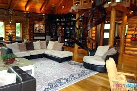 Log Cabin Living Room Fascinating Log Home Living Sweepstakes Cabin Room Ideas Rustic Furniture Ranch