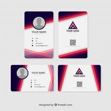 Id Cards Template Id Card Template Vectors Photos And Psd Files Free Download