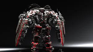 Awesome 3D Robot Wallpaper Desktop ...