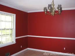 Red Painted Rooms classic deep red paint ideas for your dining room zimbio.  home red