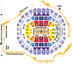 Fedex Forum Memphis Grizzlies Seating Chart 2012 13 Season Tickets The Official Site Of The Memphis