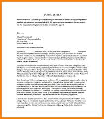sap appeal letter sample college financial aid appeal letter pdf free downnload