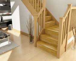 Like this but with open stair risers after turn