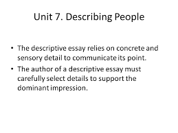 advanced english writing ppt video online  describing people