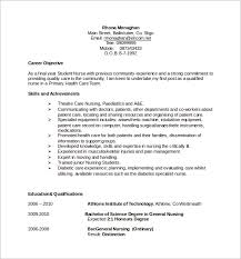 8 Nursing Cv Samples Sample Templates