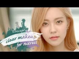 드라마 속 여배우 메이크업 natural and pure korean drama actress make up with subs heizle
