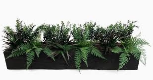 Artificial Window Artificial Botanical Greenery Window Box Evergreen Direct