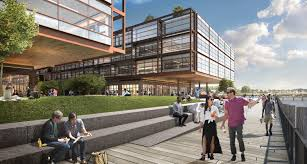 Norman foster office Architecture View Photo In Gallery Earchitect Work Begins On Norman Fosters Red Hook Office Project Will Be The