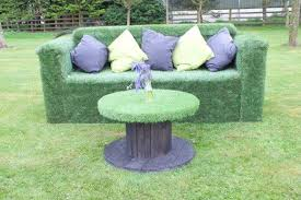<b>4 seater Artificial</b> Grass <b>Sofa</b> | <b>Sofa</b> jardim, Jardim, Grama