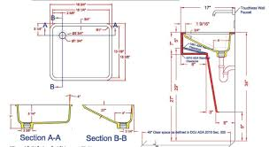Ada Sink Cabinet Dimensions Pictures To Pin On Pinterest Kitchen