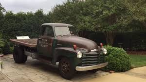 1948 Chevy 3600 Flatbed Dually -- Maiden Voyage! - YouTube