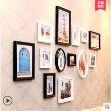 wall frames decoration hot boxes wall mounted acrylic photo oval photo frames for wedding baby