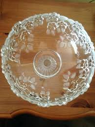 glass fruit bowl for in redruth cornwall preloved glass fruit bowl large glass fruit bowl