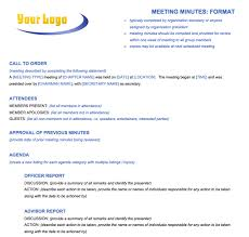 Format Meeting Minutes - Koto.npand.co