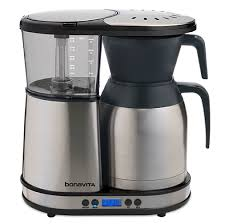 with the bonavita 8 cup digital coffee brewer you re just a few steps away from programming that perfect pot of coffee with simplicity in mind