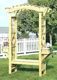 arbor and trellis pergola with bench garden arbor bench building a garden arch garden arches and
