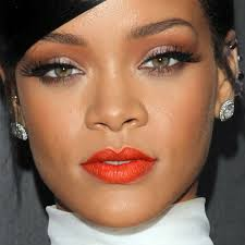 depending on your skin tone light fair um olive dark gold and orange makeup binations work well and both enhance and bring out your features