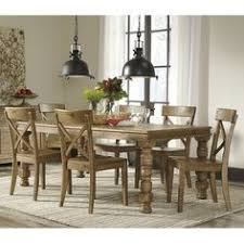 get your trishley rect ext table 6 side chairs at railway freight furniture albany ga furniture find this pin and more on dining room