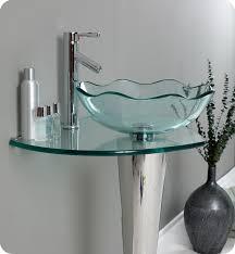 glass bathroom sinks. Unique Glass Vessel Sink Design Bathroom Sinks I