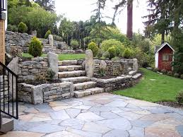 Backyard Rocks U Decors Shaded Hillside Rock Garden Improved Ecosystems Shaded