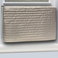 ac cover. inside fabric quilted indoor air conditioner cover-ac9h - the home depot ac cover