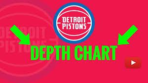 2019 Detroit Pistons Depth Chart Analysis