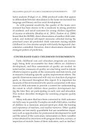 measuring quality in early childhood environments early page 155