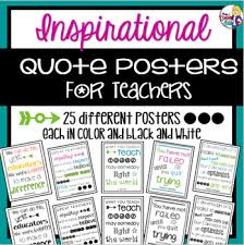 Quote Posters Gorgeous Inspirational Quote Posters For Teachers By The Teacher Next Door