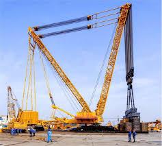 Xcmg Xgc88000 Crawler Crane 4 000 Ton World Largest