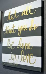wall art quotes canvas striped bible verse quote canvas painting canvas wall hanging gold sign wall art wall decor custom inspirational quotes wall art  on custom word wall art canvas with wall art quotes canvas striped bible verse quote canvas painting