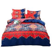 boho quilt bedding bedding king size style fashion bedding set twin queen king size bohemian duvet