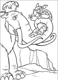 Small Picture Ice Age Confusion Ice Age Coloring Pages Pinterest Ice age